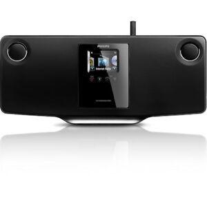 philips mci298 stereoanlage internetradio wlan lan cd und usb ebay. Black Bedroom Furniture Sets. Home Design Ideas