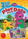 Barney: Play Date Pack (DVD, 2011, 3-Disc Set)