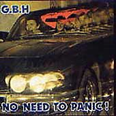 G.B.H. - No Need to Panic (2002) GBH NEW SEALED CAPTAIN OI! CD  PUNK CD