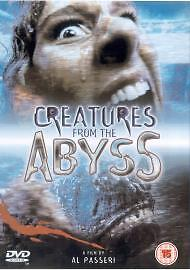 CREATURES FROM THE ABYSS - DVD, NEW & SEALED