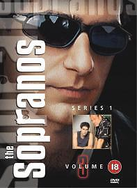 SOPRANOS-SERIES 1 VOLUME 3 NEW DVD