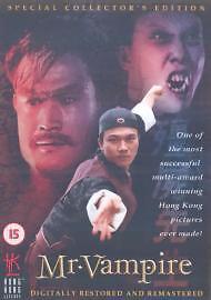 Mr Vampire DVD Ching Ying Lam Siu Ho Chin Original UK Rele Brand New Sealed R2