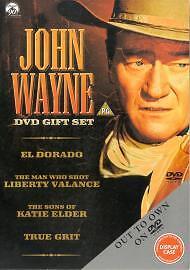 John Wayne DVD Gift Set (DVD, 2002, 4-Disc Set, Box Set)