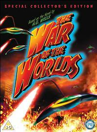 WAR-OF-THE-WORLDS-H-G-WELLS-GENE-BARRY-1953-BRAND-NEW-DVD