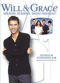 Will-And-Grace-Season-4-Episodes-1-To-4-DVD-2004-NEW-AND-SEALED