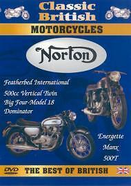 Classic British Motorcycles - Norton (DVD, 2004) 5060005701260
