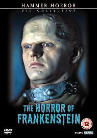 HORROR OF FRANKENSTEIN HAMMER DVD  RALPH BATES KATE O'MARA DENNIS PRICE