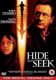 Hide and Seek DVD (2005) Robert De Niro **FREE UK DELIVERY**