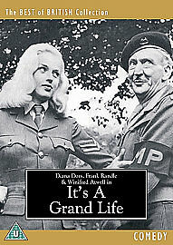 It's A Grand Life (DVD, 2006)  NEW AND SEALED REGION 2 DIANA DORS