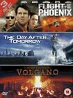The Day After Tomorrow / Flight Of The Phoenix / Volcano (DVD, 2005, 3-Disc Set)