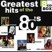 8CD Boxset Greatest Hits Of The 80's Duran Pat Benetar Blondie Spandau Ballet Y3
