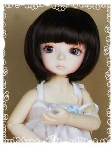 8-9-034-Dark-Brown-1-3-SD-BJD-Doll-SUPER-DOLLFIE-BOB-Wig