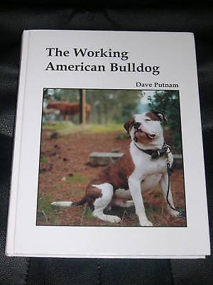 RARE BULLDOG PIT BULL TERRIER DOG BOOK PUTNAM 1ST 1999