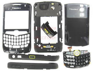 Black Nextel BlackBerry 8350i Curve OEM Whole Housing