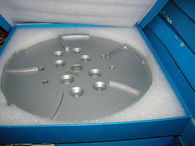 "10"" Diamond Pro Grinding Head Surface Concrete Grinder Edco MK Medium Bond Floor"