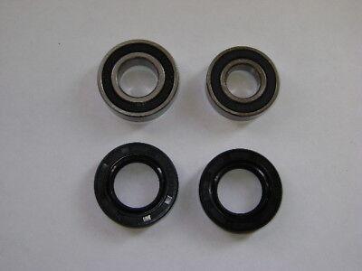Suzuki Gs400 Xb Xc T500 Ts250 Ts400 Front Wheel Bearings & Seals Kit 72