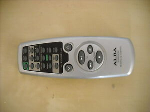 ALBA SYS8633CDM AUDIO CD REMOTE CONTROL