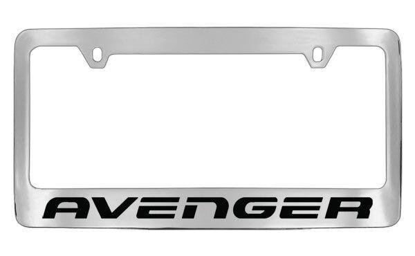 dodge avenger chrome license plate frame holder - Dodge License Plate Frame