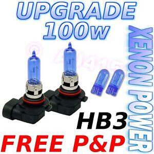 Chrysler-300C-100w-Xenon-Main-Beam-Bulbs-9005-HB3-501