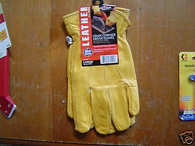 Westchester Grain Cowhide Drivers Work Glove Large