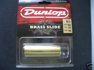 JIM-DUNLOP-222-SOLID-BRASS-MED-GUITAR-SLIDE-BOTTLE-NECK