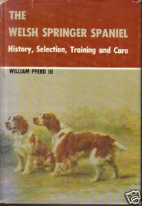 WELSH-SPRINGER-SPANIEL-DOG-BOOK-PFERD-HISTORY-CARE