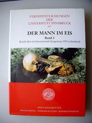 Der Mann im Eis Bd. 1 Bericht Int. Symposium Innsbruck