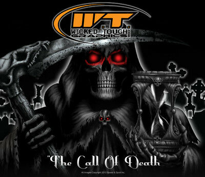 Yamaha Raptor 700 700r Graphics the Call Of Death Blu
