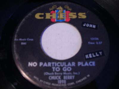 Chuck Berry No Particular Place To Go 1964 45rpm Chess Ebay