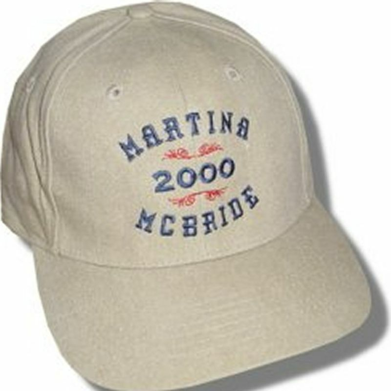 Martina Mcbride 2000 Tour Tan Baseball Hat Cap New Official Licensed