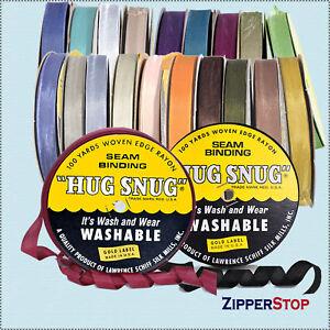 Hug-Snug-Seam-Binding-100-yds-Roll-1-2inch-Wide
