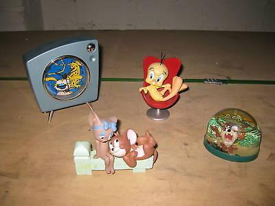 4er Set Looney Tunes Tweety Taz Tom & Cherry Masupilani
