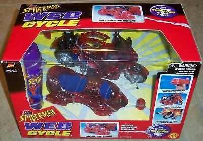 Spiderman Web Cycle Toybiz 1998
