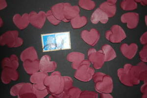 Wedding-CONFETTI-1000-pretty-Love-Hearts-Bio-Degradable-Hand-made-in-England