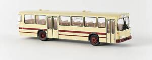 Brekina 50600 Mercedes O 307 Bus, elfenbein / rot