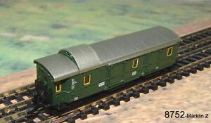 Maerklin-8752-Einheitsgepaeckwagen-034-Donnerbuechse-034-NEU-OVP