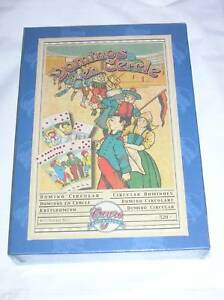 REPRODUCTION JEU ANCIEN / DOMINOS EN CERCLE / NEUF+++++