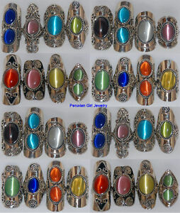 10 cats eye bead rings peru artisan art craft peruvian for Wholesale costume jewelry for resale