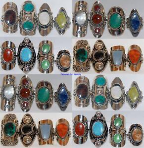 0a7a8c2d6f84 30 Anillos de piedra joyería peruana por mayor Plata de alpaca Perú ...