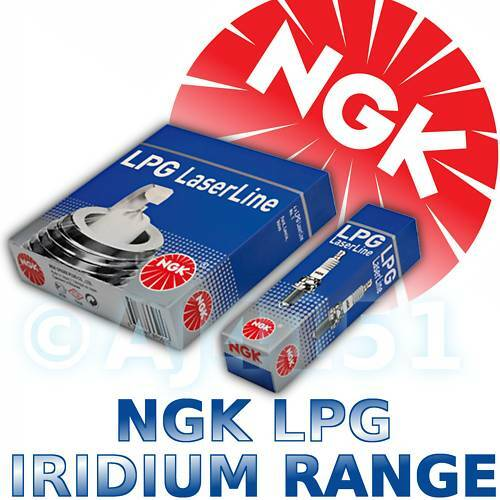 6x NGK Iridium LPG Spark Plugs LEXUS IS200 2.0lt 1999->