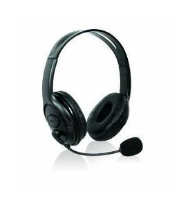 XBOX 360  Microphone HEADSET Headphone With Mic BLACK