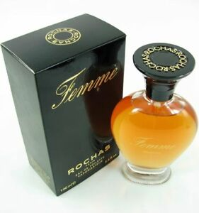 ROCHAS FEMME 100ml EDT SPRAY NEW WOMEN PERFUME