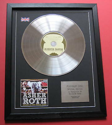 ASHER ROTH Asleep In The Bread .. CD / PLATINUM LP DISC Presentation