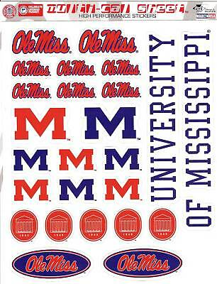 Cdi - University Of Mississippi Stickers