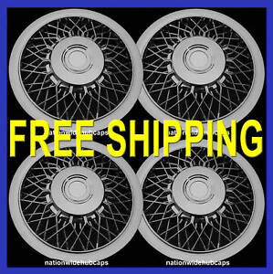 15-SET-OF-4-CHROME-HUB-CAPS-FULL-WHEEL-COVERS-RIM-COVER-WHEELS-RIMS-FREE-SHIP