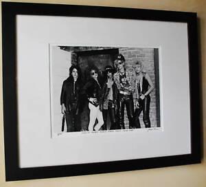 Guns-N-Roses-Rare-Slash-Axl-Rose-1st-band-photo-fine-art-1985-signed-7-100