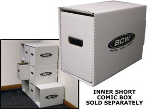 Short Comic Book House SET OF 5 With Boxes Drawers