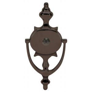 Oil rubbed bronze 8 door knocker viewer - Door knocker viewer ...