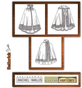 Butterick-B4419-SEWING-PATTERN-Size-L-XL-Victorian-Cloak-Cape-Civil-War-OOP