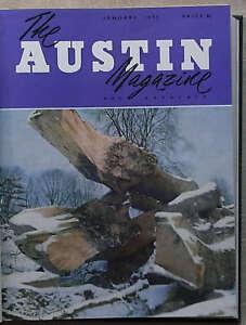 AUSTIN-Owners-12-Car-MAGAZINES-Bound-Volume-1953